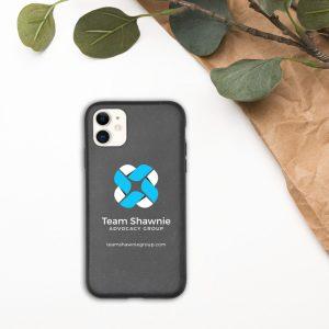 Team Shawnie 1 Biodegradable iPhone case