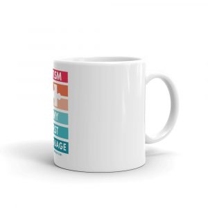 Autism Is My First Language – Mug