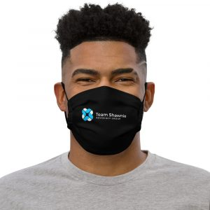 Team Shawnie – Premium face mask