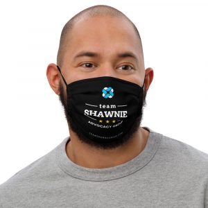 Fight Your Fight – Premium face mask