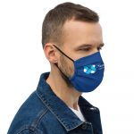 Team Shawnie Blue – Premium face mask
