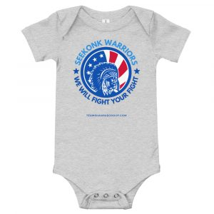 Seekonk Warriors 2 – Unisex Kids Bodysuit