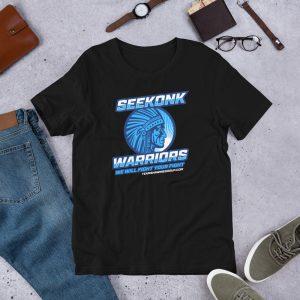 Seekonk Warriors 1 – Short-Sleeve Unisex T-Shirt