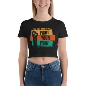 We Are Ready – Women's Crop Tee