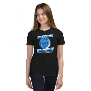 Seekonk Warriors 1 – Youth Short Sleeve T-Shirt