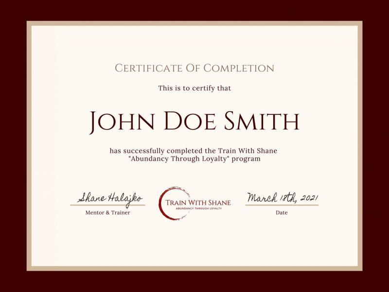 TWS_Certificate